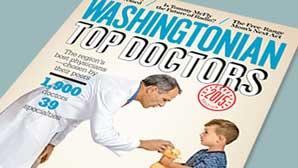 Washingtonian Magazine Top Doctor